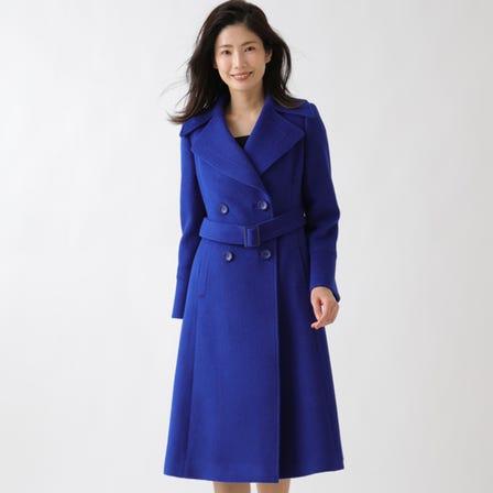 安哥拉羊毛长大衣
