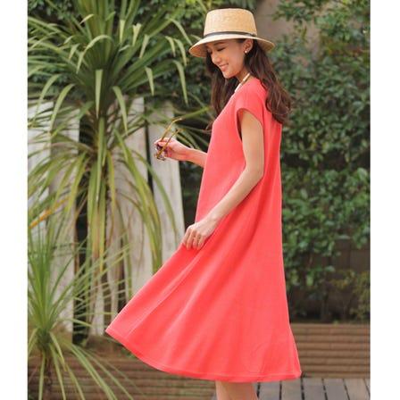 paperyarn knit dress