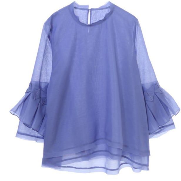 [Hand washable] Boil blouse