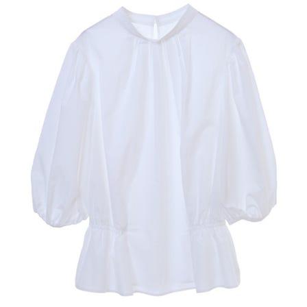 [可手洗] 褶皺設計襯衫