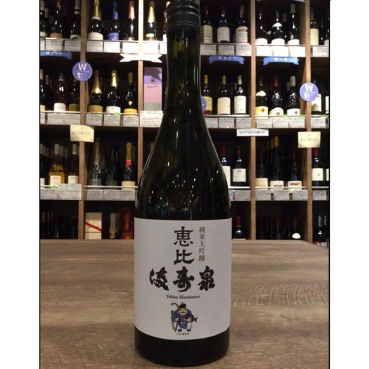 Ebisu Masuizumi Junmai Daiginjo (no additives, super premium) Sake (720ml)