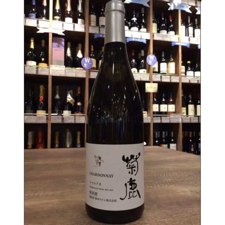 菊鹿シャルドネ 熊本ワイン 750ml