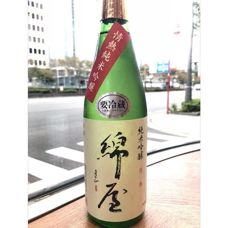 綿屋 情熱純米吟醸 阿波山田錦 720ml
