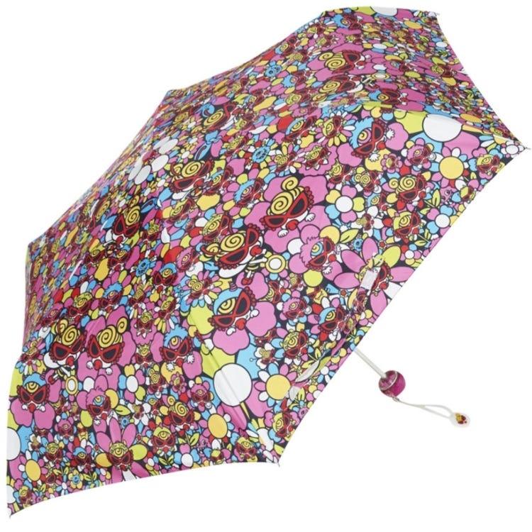 MONSTER FLOWER GARDEN総柄折りたたみ傘