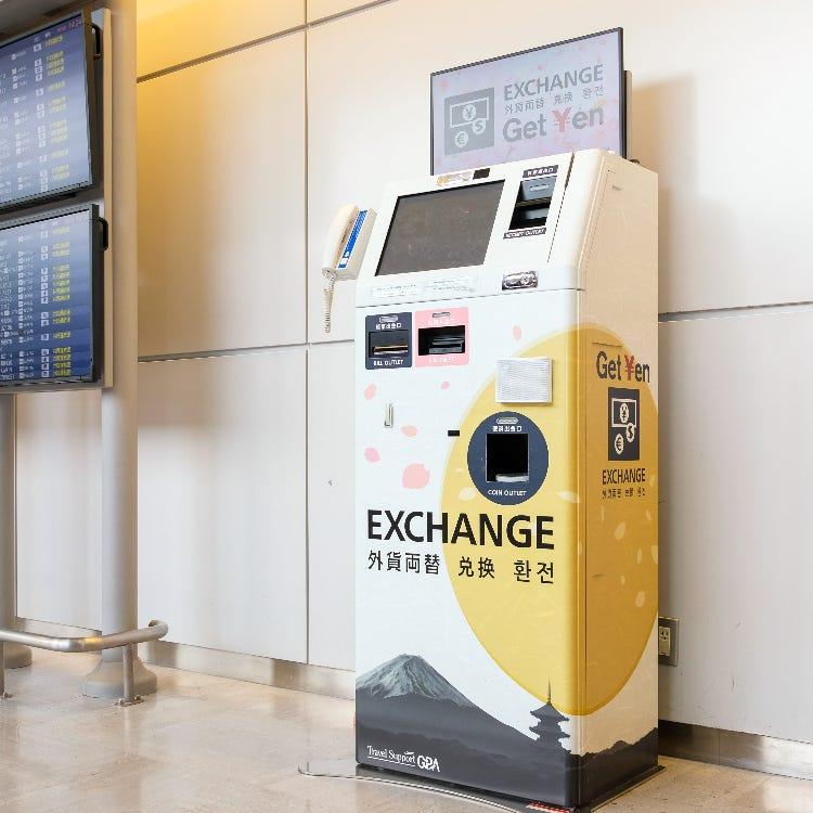 【外幣兌換】營業所・自動外幣買進機<br /> 第1航站樓 第2航站樓 第3航站樓