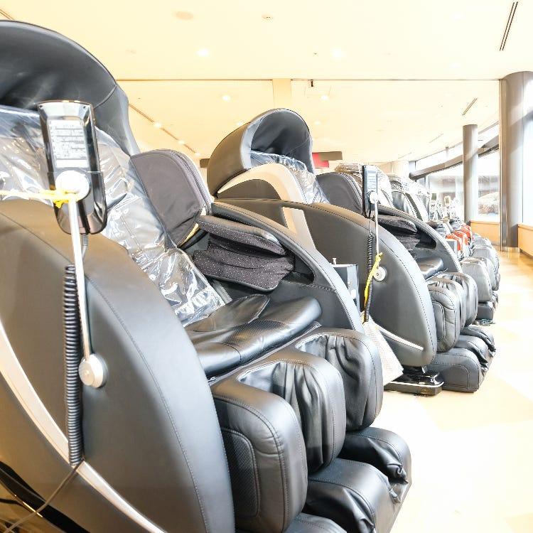 【Massage chairs】<br /> Terminal 1 Terminal 2 Terminal 3