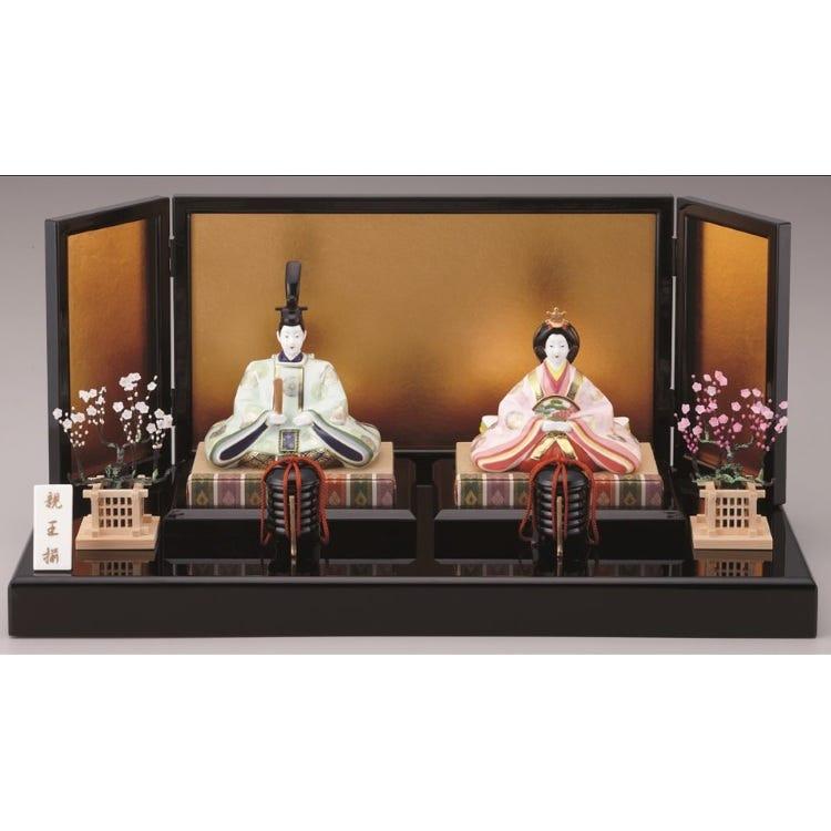 Noritake, Bone China Emperor & Empress Doll Set