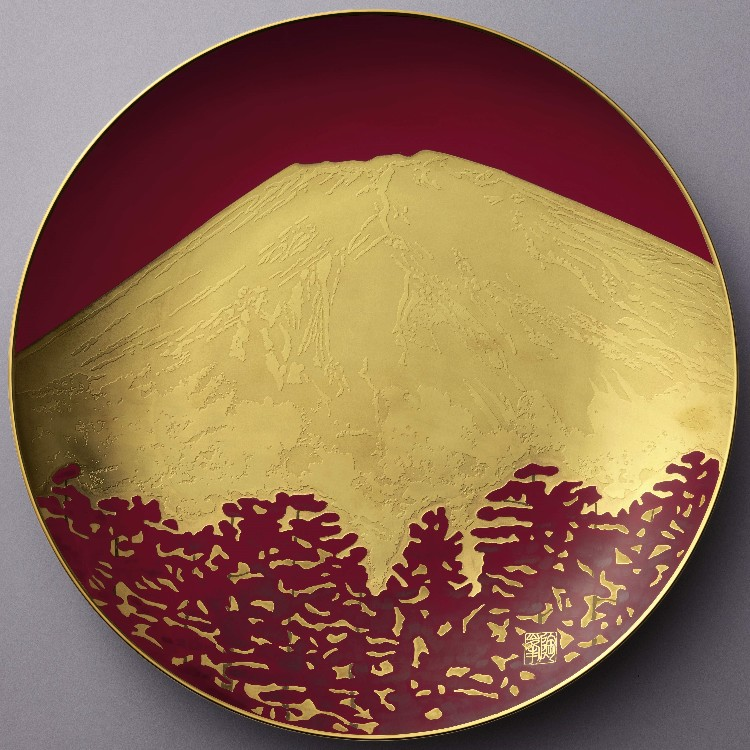 "Show Plate "" AKA-FUJI""<br />