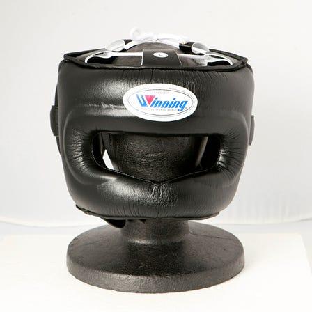Winning/FG-5000/拳擊頭部護具※全罩式臉部防護(黑色)