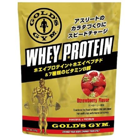 ゴールドジム ホエイプロテイン ストロベリー風味 / チョコレート風味 / ヨーグルト風味 /  クッキー&クリーム風味 / カフェオレ風味 360g ~1.5kg