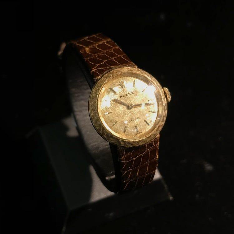 Rolex 18KG Precision wristwatch 1960s