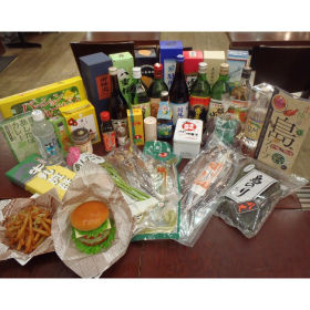 Specialty produce of the Izu and Ogasawara Islands (juices, sweets, fresh foodstuffs, cooking foods, processed foods)