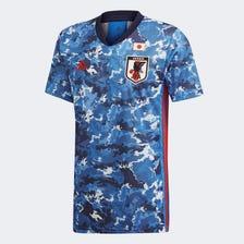 2020 Japan National Soccer Team Home Replica Uniform Short Sleeve