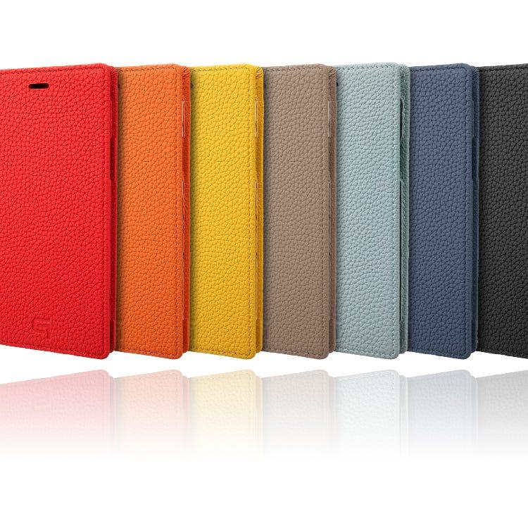 GRAMAS German Shrunken-calf Genuine Leather Book Case for iPhone 11/11 Pro/11 Pro Max