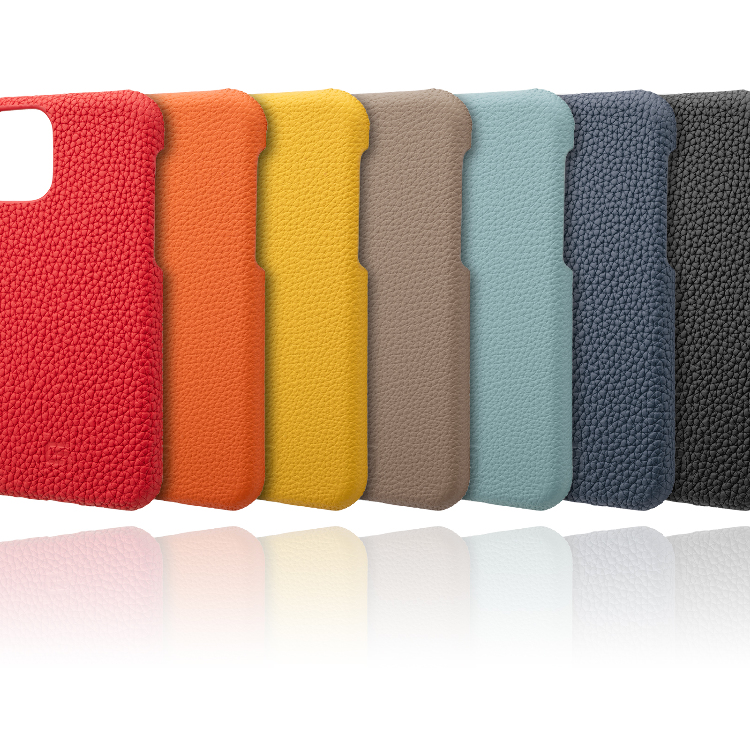 GRAMAS German Shrunken-calf Genuine Leather Shell Case for iPhone 11/11 Pro/11 Pro Max