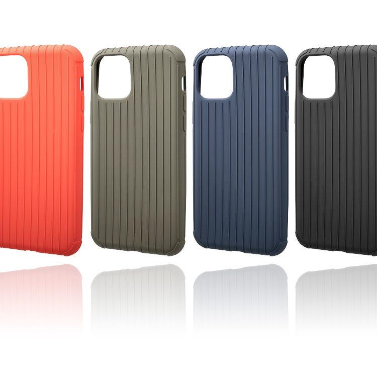 "GRAMAS COLORS ""Rib Light"" TPU Shell Case for iPhone 11 /11 Pro/11 Pro Max"