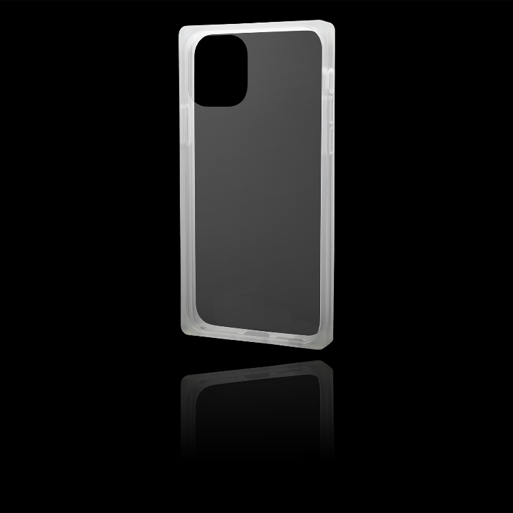 """GRAMAS COLORS """"Glassty"""" Glass Hybrid Shell Case for iPhone 11/11 Pro/11 Pro Max"""