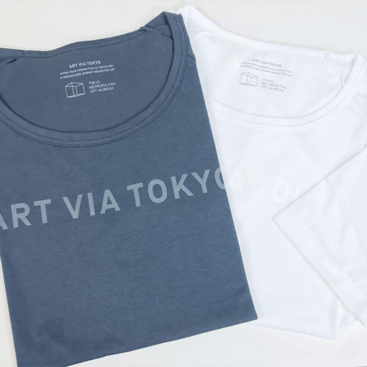 東京都美術館原創商品<br /> 「ART VIA TOKYO」日本製T恤