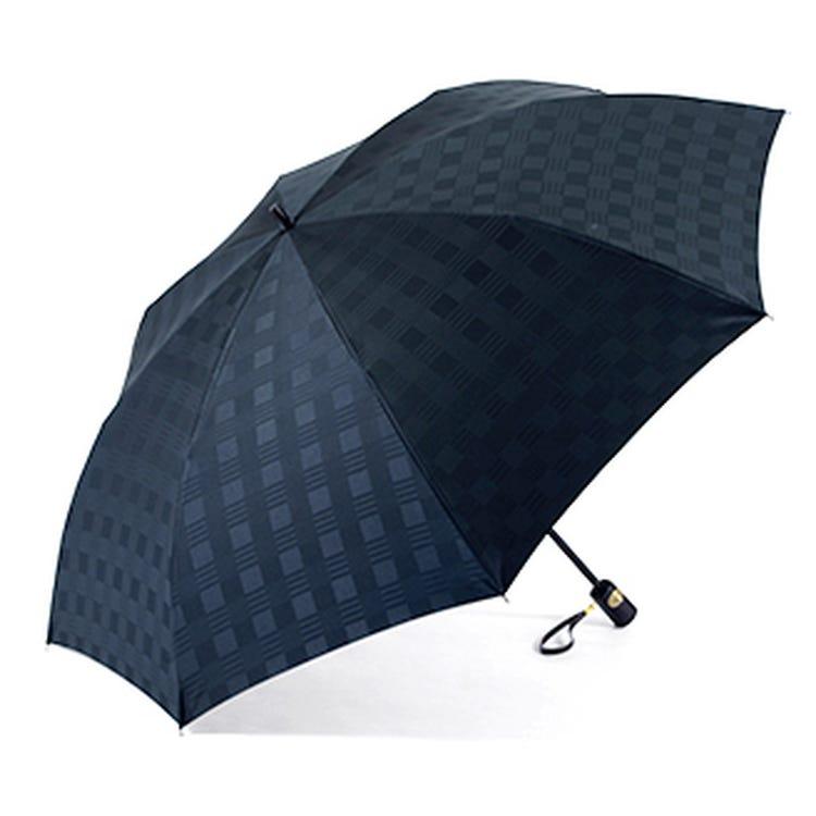 Men's umbrella (compact folding, 8-rib) * The photo is a sample image.