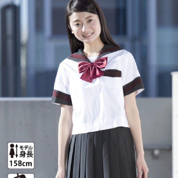 灰色水手风格(水手,裙子,丝带)