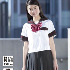 Gray Sailor Style (Sailor, Skirt, Ribbon)