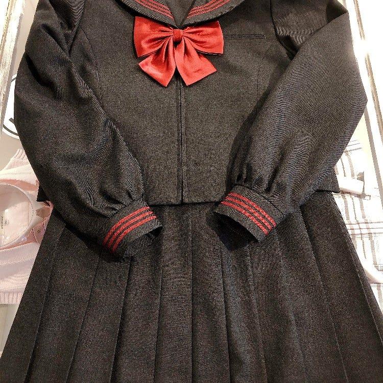 New Graysailor (Sailor, Skirt, Ribbon)