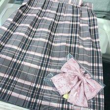 粉红色x灰色裙子·我的旋律丝带
