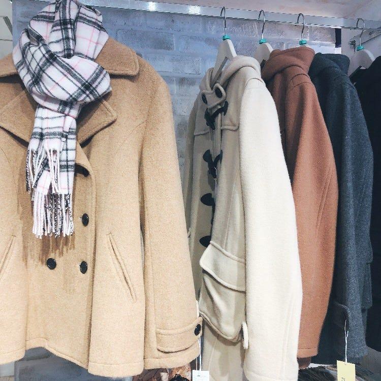 P coat x duffle coat
