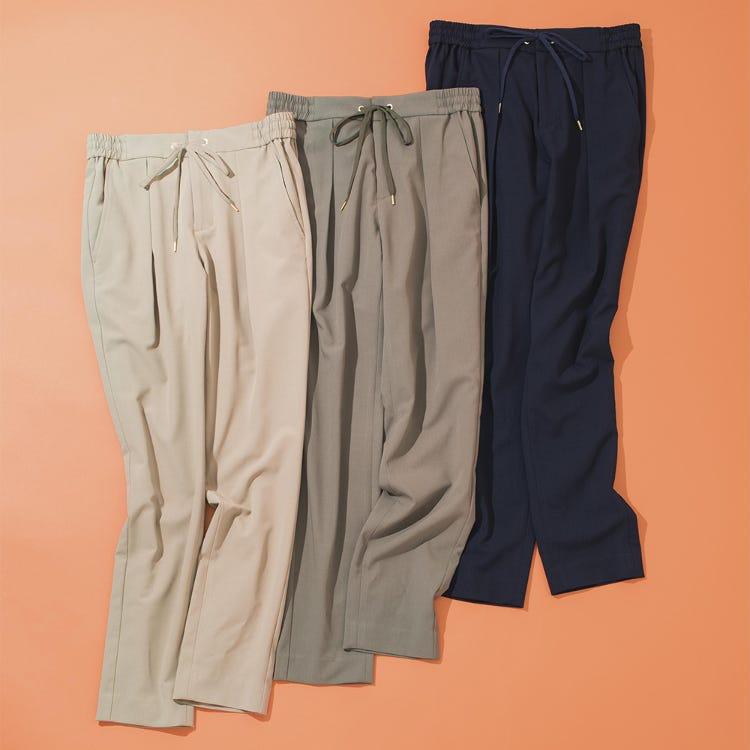 彈性錐形褲