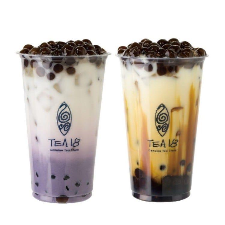 TEA18(ティーエイティーン)<br /> ■地下2階=食品売場<br /> 台湾・中国などで展開するお茶専門店『TEA18(ティーエイティーン)』。