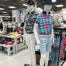 各種紳士、女士高爾夫服飾名牌商品 Callaway、Descente等