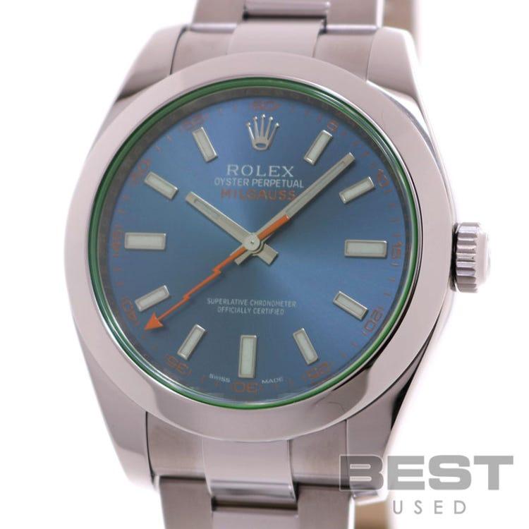 ROLEX  MILGAUSS  116400GV(USED)(0100203530585)