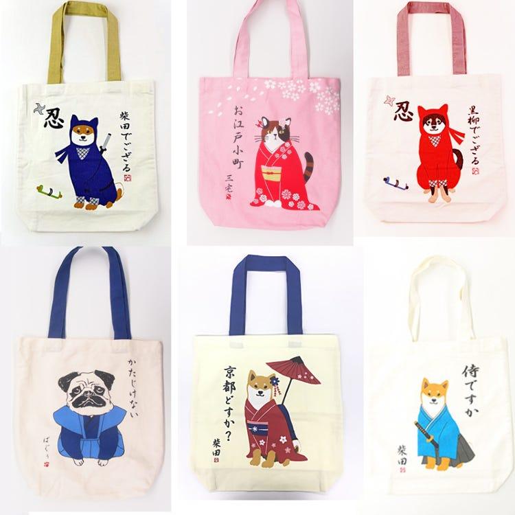 Recommendation<br /> Tote bag<br /> Samurai Ninja Maiko