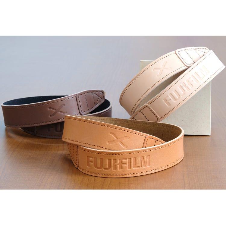 FUJIFILM X original genuine bull leather shoulder strap