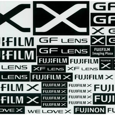 FUJIFILM Xステッカーシート