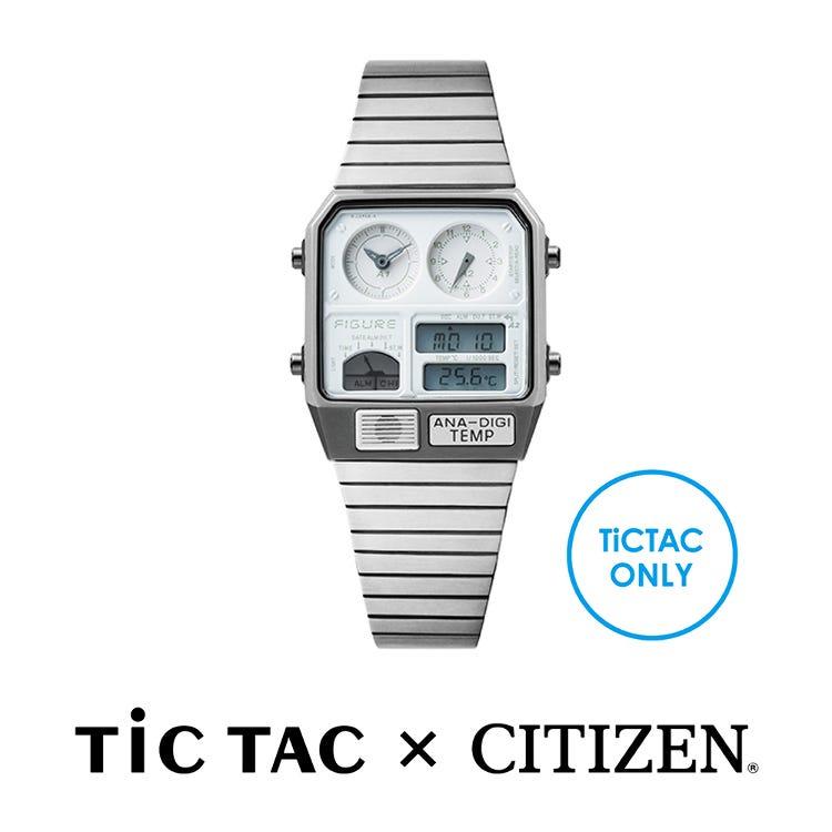 Movement in Motion(TiCTAC × CITIZEN)