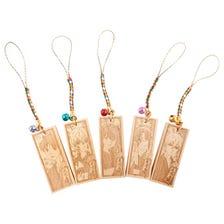 木牌手机吊饰 (共5种)