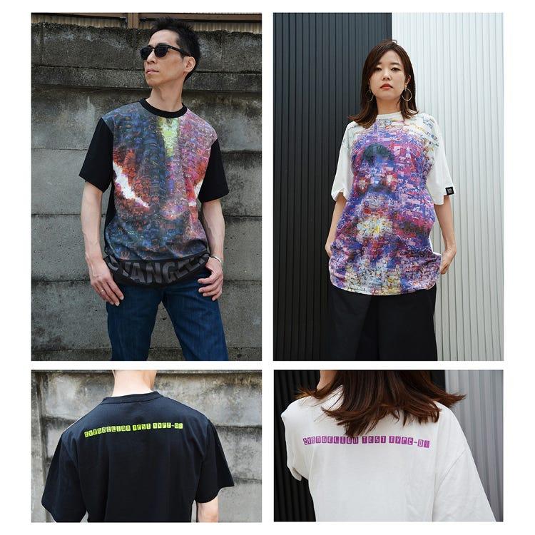 EVA BG T恤 (眼光/咆哮)