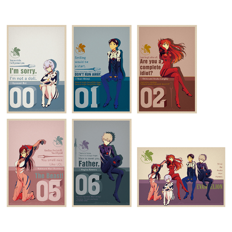 明信片組 (每組6張)