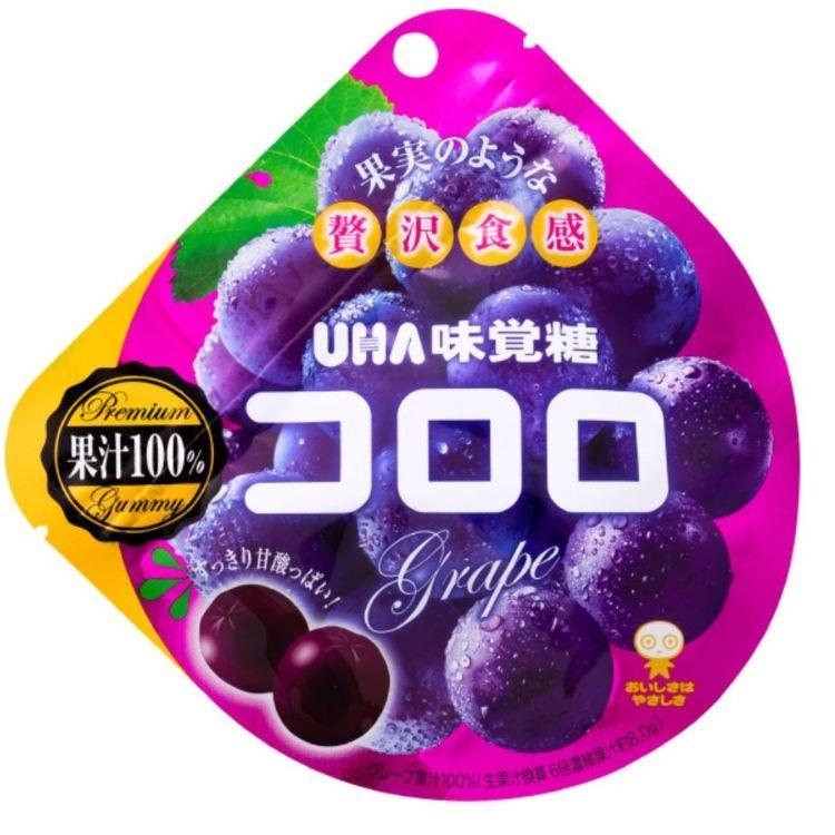 味覺糖 花朵 葡萄 40G