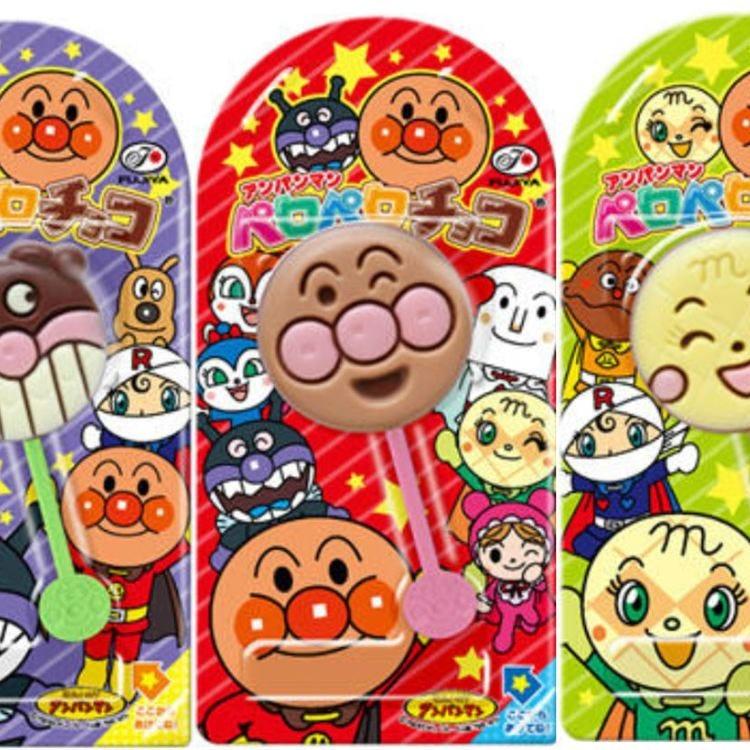 Fujiya Anpanman Licking Chocolate 0.4oz (12g)