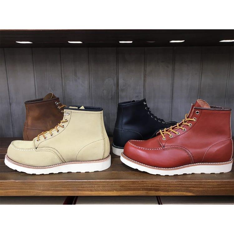 REDWING Moc Toe 經典鞋款