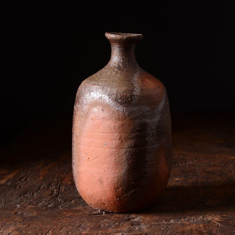 Bizen Sake Bottle