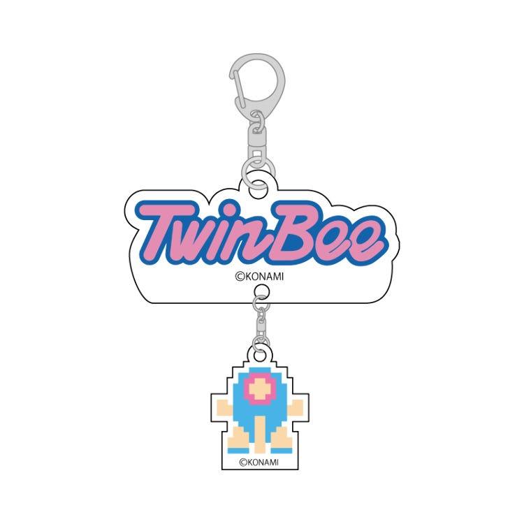 TwinBee key chain