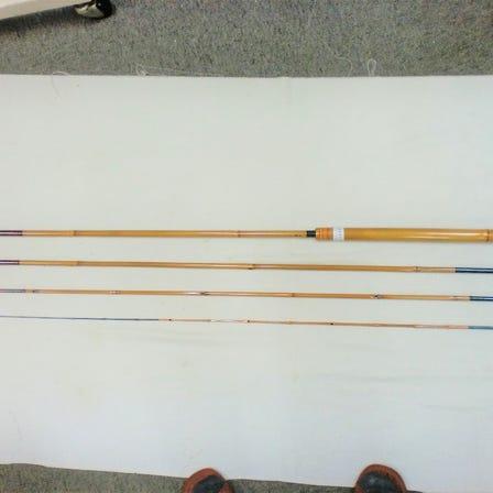 Tenkara rod length 357 mm, 4 pieces, final dimensions 100 mm