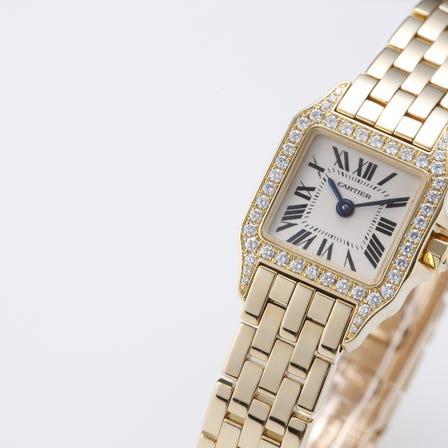 Cartier Santos de Moiselle Bezel Diamond
