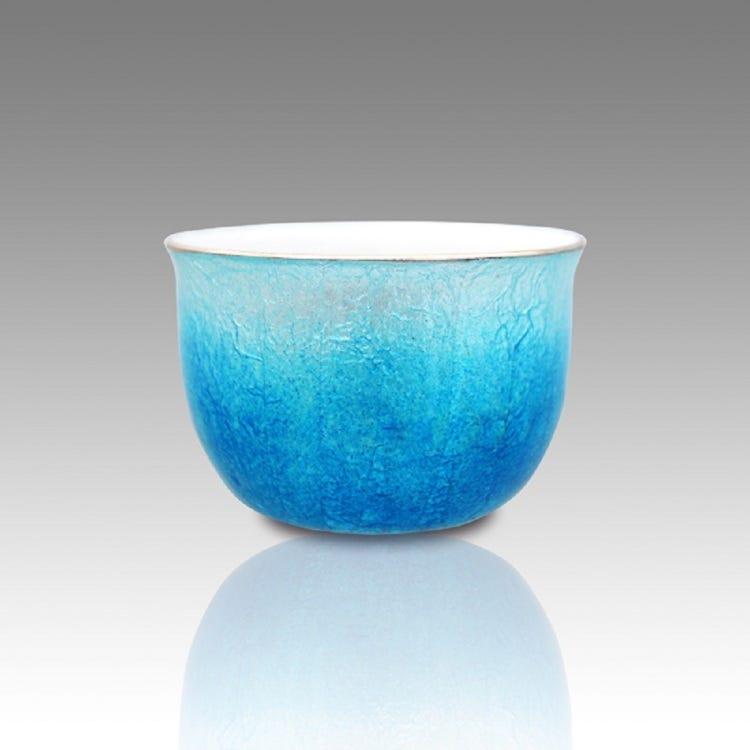Cloisonne sake cup
