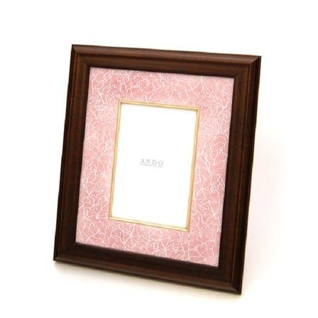 Cloisonne Peony Photo frame