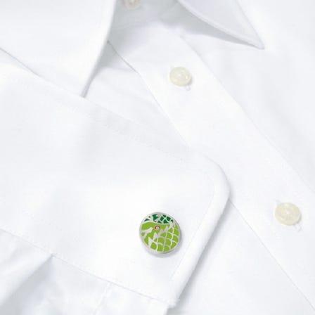 七寶 龍 袖扣