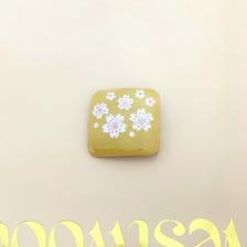 Handmade cherry  brooch